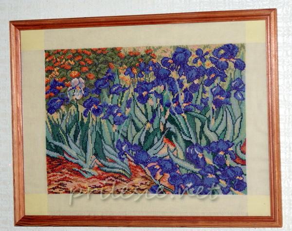 Вышивка по картине Ван Гога