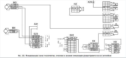 схема подключения моторчиков печки на камазе. подскажите, кто знает.