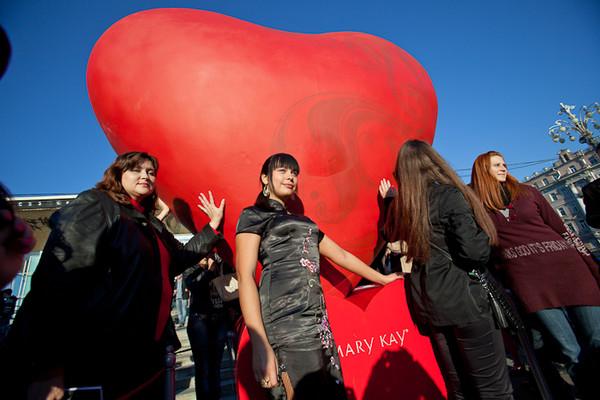В центре Киева появится гигантское сердце