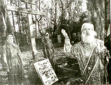 Кто и когда на самом деле осквернил и уничтожил некрополь Грузинских князей у Храма Всех Святых на Соколе в Москве. I-1014