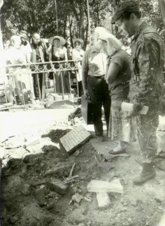 Кто и когда на самом деле осквернил и уничтожил некрополь Грузинских князей у Храма Всех Святых на Соколе в Москве. I-1022