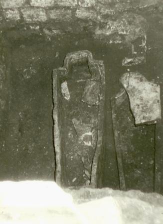 Кто и когда на самом деле осквернил и уничтожил некрополь Грузинских князей у Храма Всех Святых на Соколе в Москве. I-1026