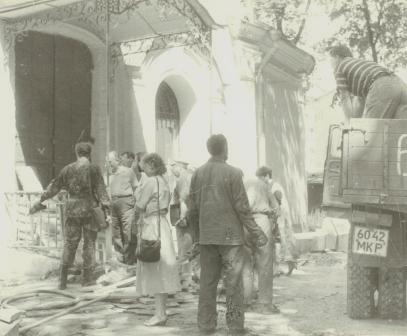 Кто и когда на самом деле осквернил и уничтожил некрополь Грузинских князей у Храма Всех Святых на Соколе в Москве. I-1035
