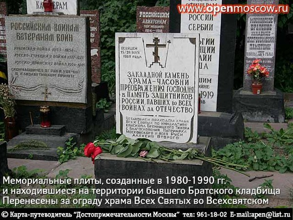 Кто и когда на самом деле осквернил и уничтожил некрополь Грузинских князей у Храма Всех Святых на Соколе в Москве. I-1086