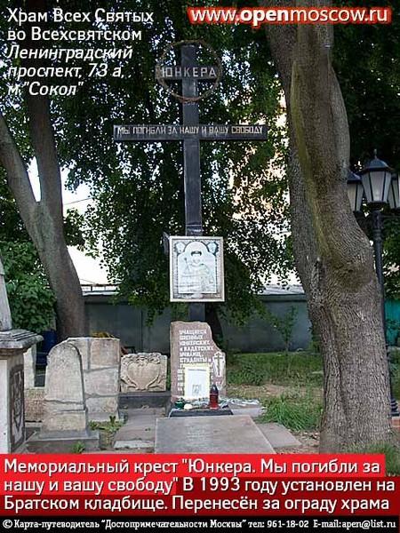 Кто и когда на самом деле осквернил и уничтожил некрополь Грузинских князей у Храма Всех Святых на Соколе в Москве. I-1091