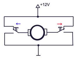 Как сделать реверс на мотор 157