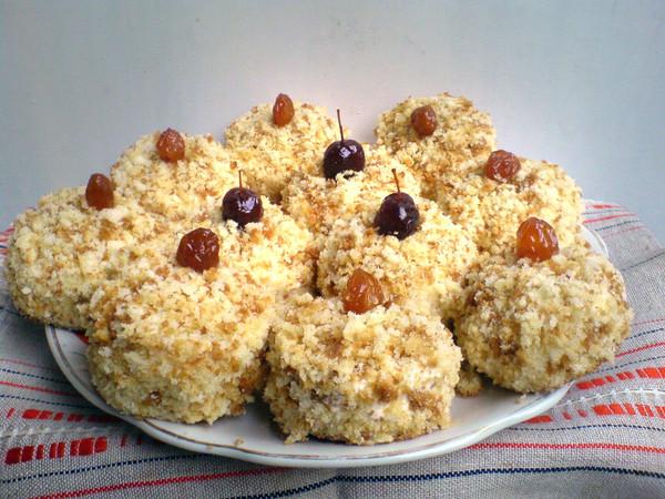 Пирожное белочка рецепт с пошагово в