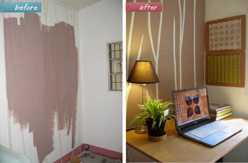 Покраска стен в квартире своими руками фото примеров