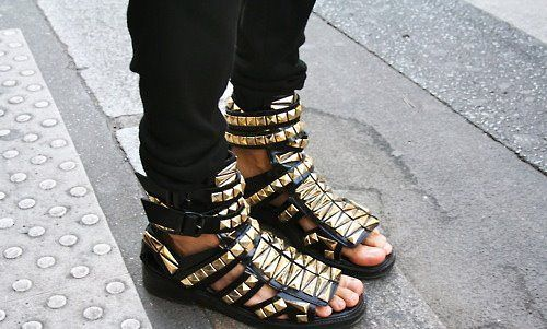 После чего модная обувь лето 2012 фото