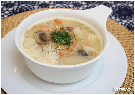 i 1122 Овощной суп с шампиньонами