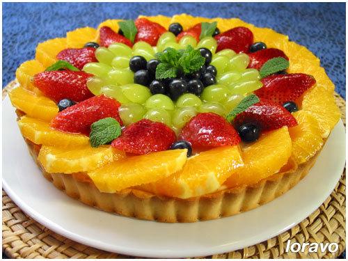 Как сделать пирог из фруктов