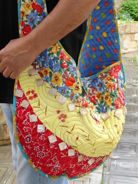 Сумки в технике лоскутное шитье