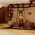 Фото Современная квартира в стиле кантри, картинка 640x480.