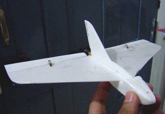"""Интересная модель  """"Baby Twiglet """", которую при желании можно повторить.  Сделана из пенопласта с полетным весом 13..."""