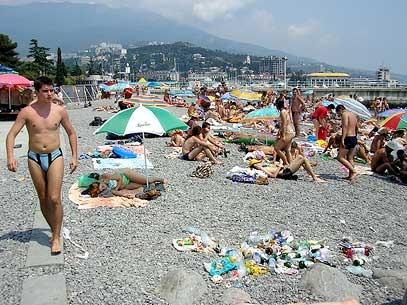 Мусорные пляжи Черногории