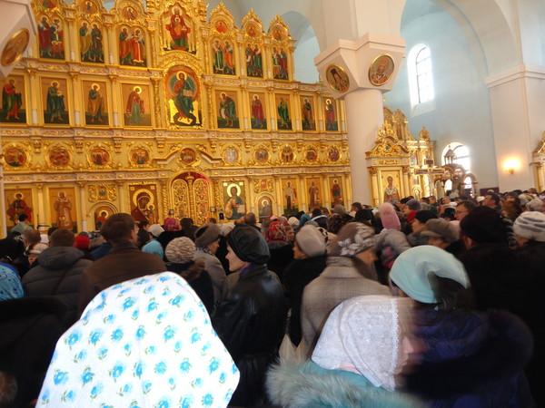 Празднование казанской иконе божией