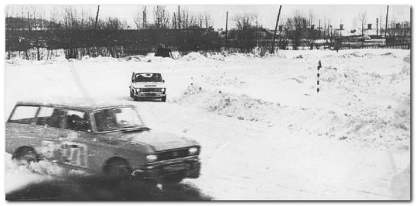 История вологодского авто- мотоспорта в фотографиях | Автоспорт Вологодская область
