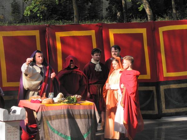 Свадьба по-древнеримски