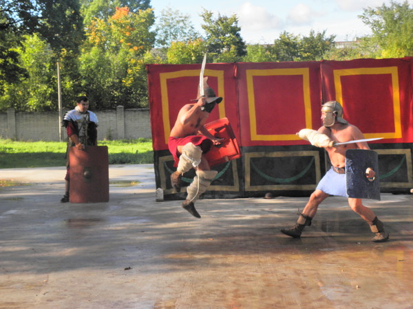 Гладиаторские бои на берегу Нарвы