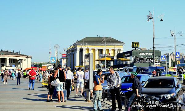 Самый посещаемый Макдональдс в Украине