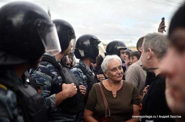 Московский митинг в поддержку Навального