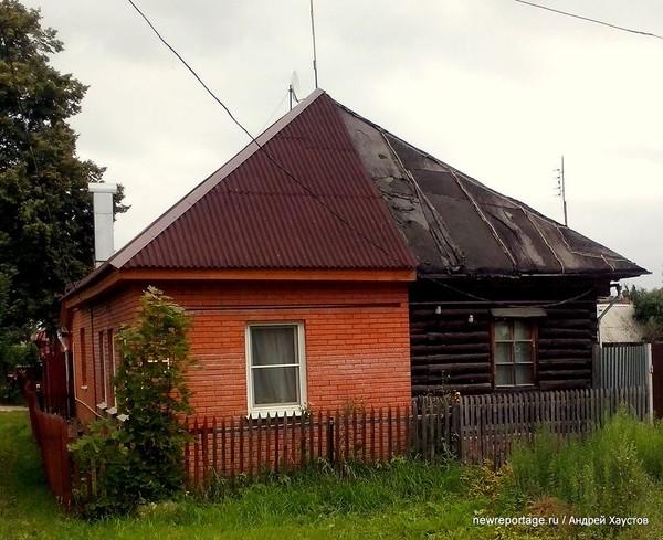 Контрастный домик