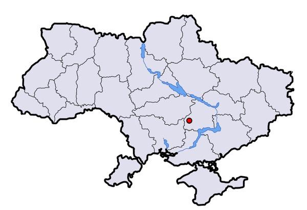 Подскажите как найти на карте украины