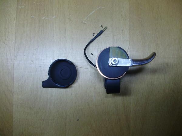 Маленький и лёгкий самокат-двухподвес