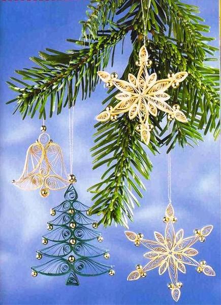 Картинки украшения для нового года своими руками
