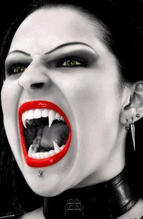 Женщина - вамп