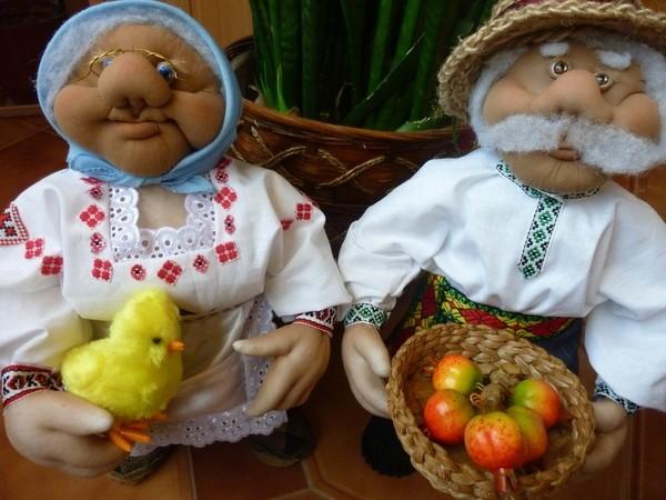 Куклы баба и дед