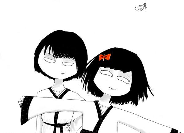 Танака Киоко и Киоши