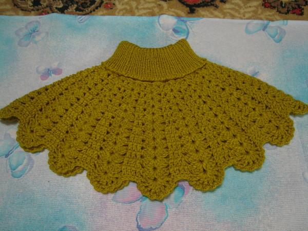 Вязание для малышей манишка