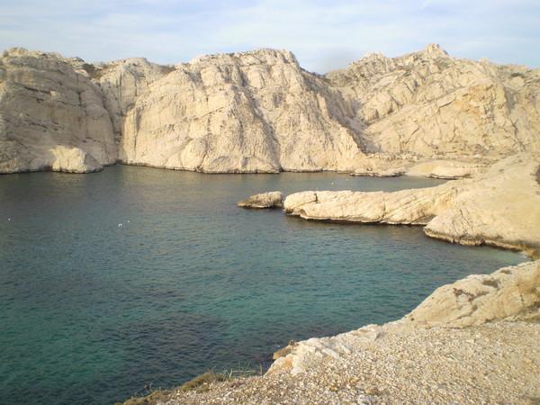 Марсель. каланки и скалы