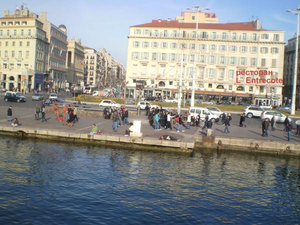 Марсель. старый порт