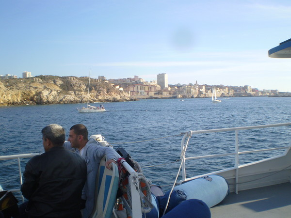 Марсель. морская прогулка
