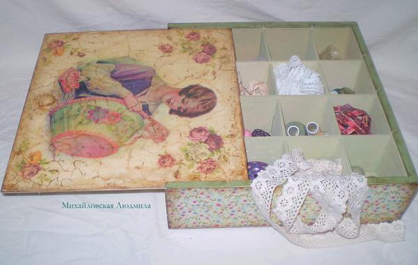 коробка рукодельницы 2