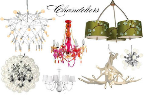 Лампы лампочки и светильники