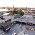 транспортная развязка у станции Slussen
