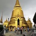 Бангкок. Grand Palace. Чеди Пхра-Си-Ратана