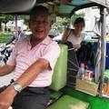 Бангкок. Ура! Приехали к станции метро Phaya Thai.