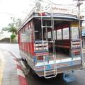 На этом автобсе мы приехали из г. Пхукет к отелю на Karon beach.