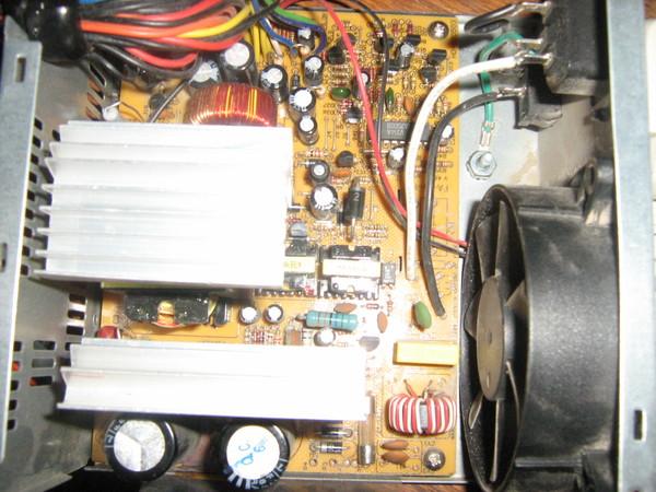 как починить блок питания power master fa-5-2 250w (peak load) pentium 4?