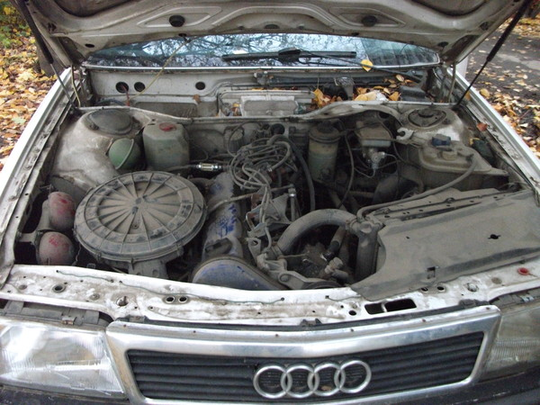Двигатели на ауди 100 с3