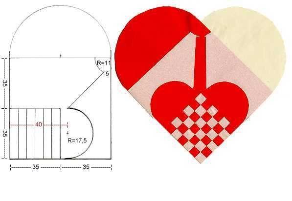Сердечки оригинальные из бумаги своими руками