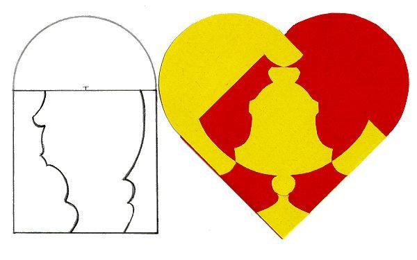 Как сделать валентинку из бумаги сердце