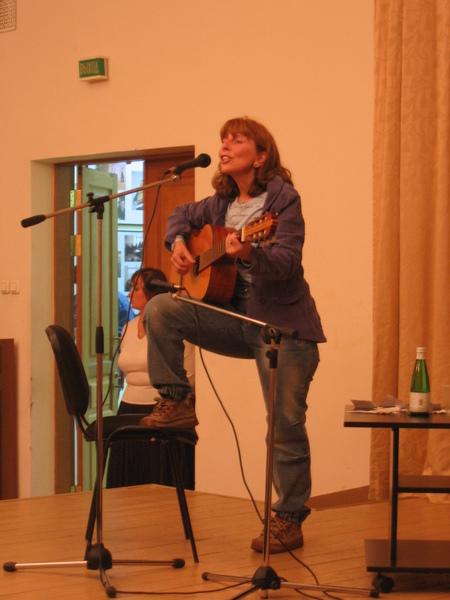 Марина Москвина в Галерее на Самотеке