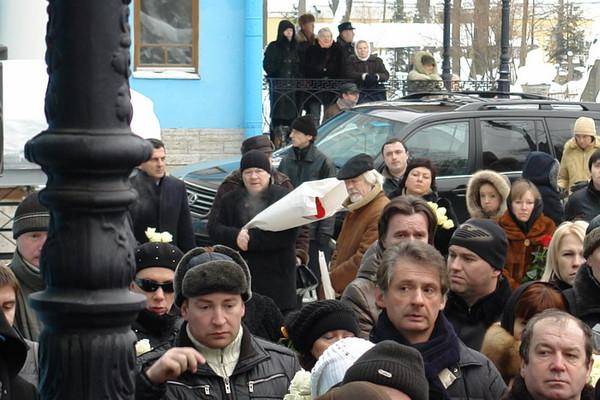 похороны анны самохиной фото