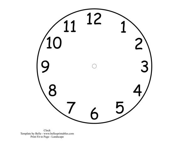 Часы детям для обучения