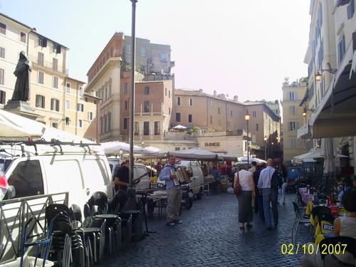 римские уличные музыканты